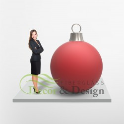Figura dekoracyjna Bombka duża