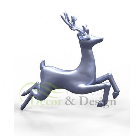Figura dekoracyjna Renifer latający
