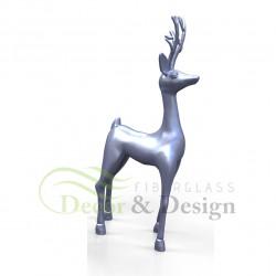 Decorative figure Statue Xmas standing Reindeer