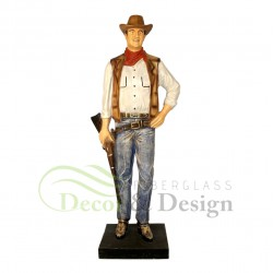 Figura dekoracyjna John Wayne