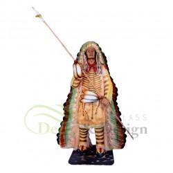 Figura dekoracyjna Wódz Indian