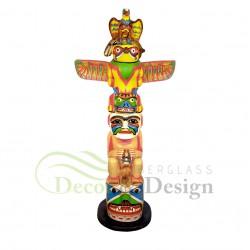 Figura dekoracyjna Indianski Totem