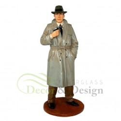 Figura dekoracyjna Detektyw