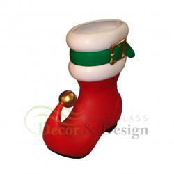 Figura dekoracyjna Świąteczny but