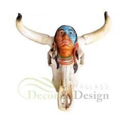 Figura dekoracyjna Maska Indianina
