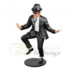Figura dekoracyjna Blues Brother