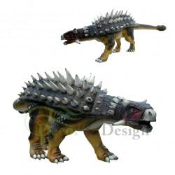 Decorative figure Statue Dinosaur Ankylozaur