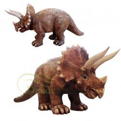 Figura dekoracyjna Triceratops Mały