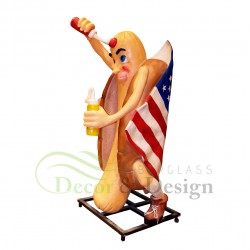 Figura dekoracyjna Hot-Dog
