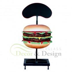 Figura dekoracyjna Hamburger