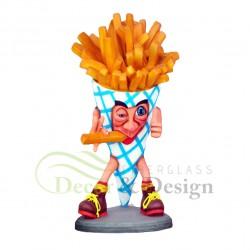 Figura dekoracyjna Frytki 2