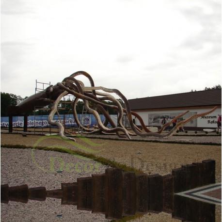 Decorative Figure Statue Giant Squid Fiberglass Decor Design Sp Z