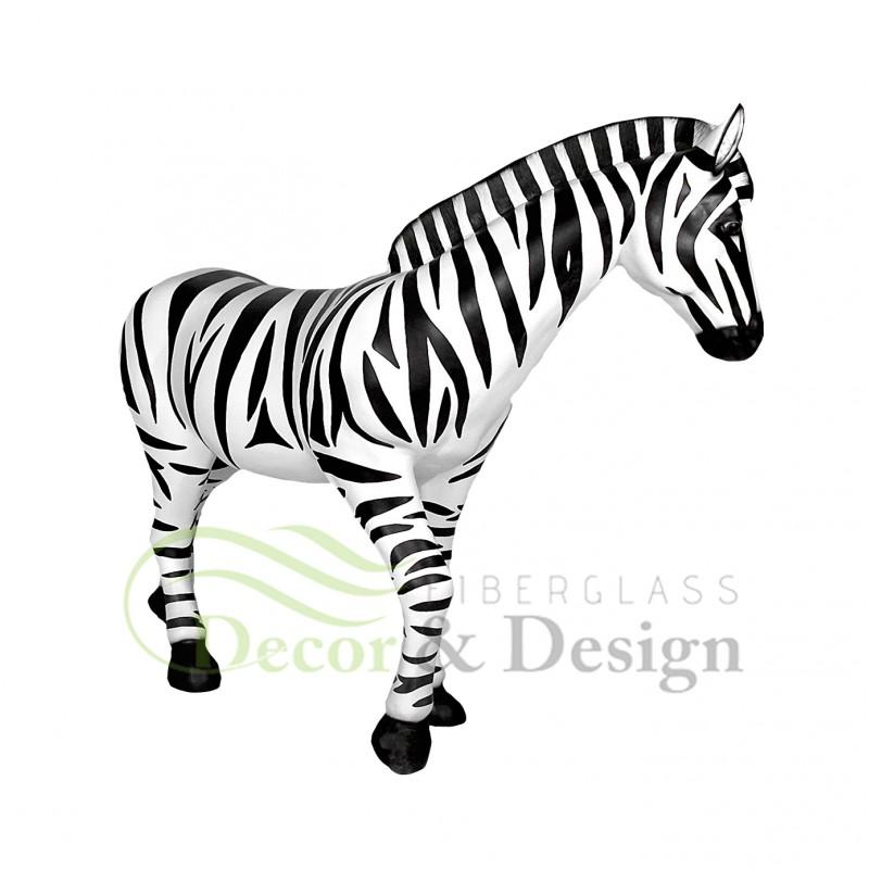 Figura Dekoracyjna Zebra Fiberglass Decor Design Sp Z O O