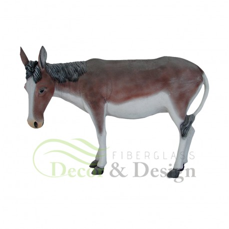Decorative figure Statue Donkey