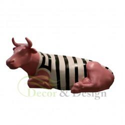 Figura dekoracyjna Krowa leżąca