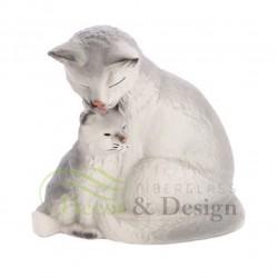 Figura dekoracyjna Kotka