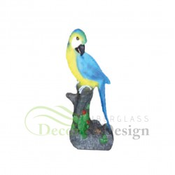 Figura dekoracyjna Papuga