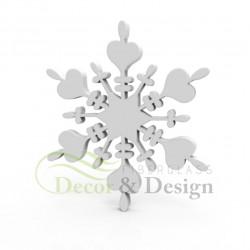 Decorative figure Statue Snowflake