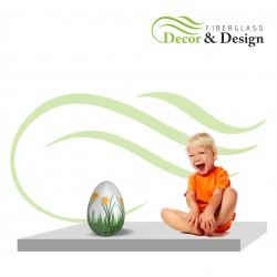 Figure décorative oeufs de Pâques S 30 CM