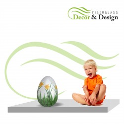 Figura dekoracyjna Jajko Wielkanocne S 40 CM