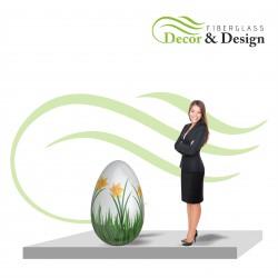 Figure décorative oeufs de Pâques xl 100 CM