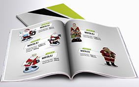Katalog Makiety Reklamowe - Mikołaje