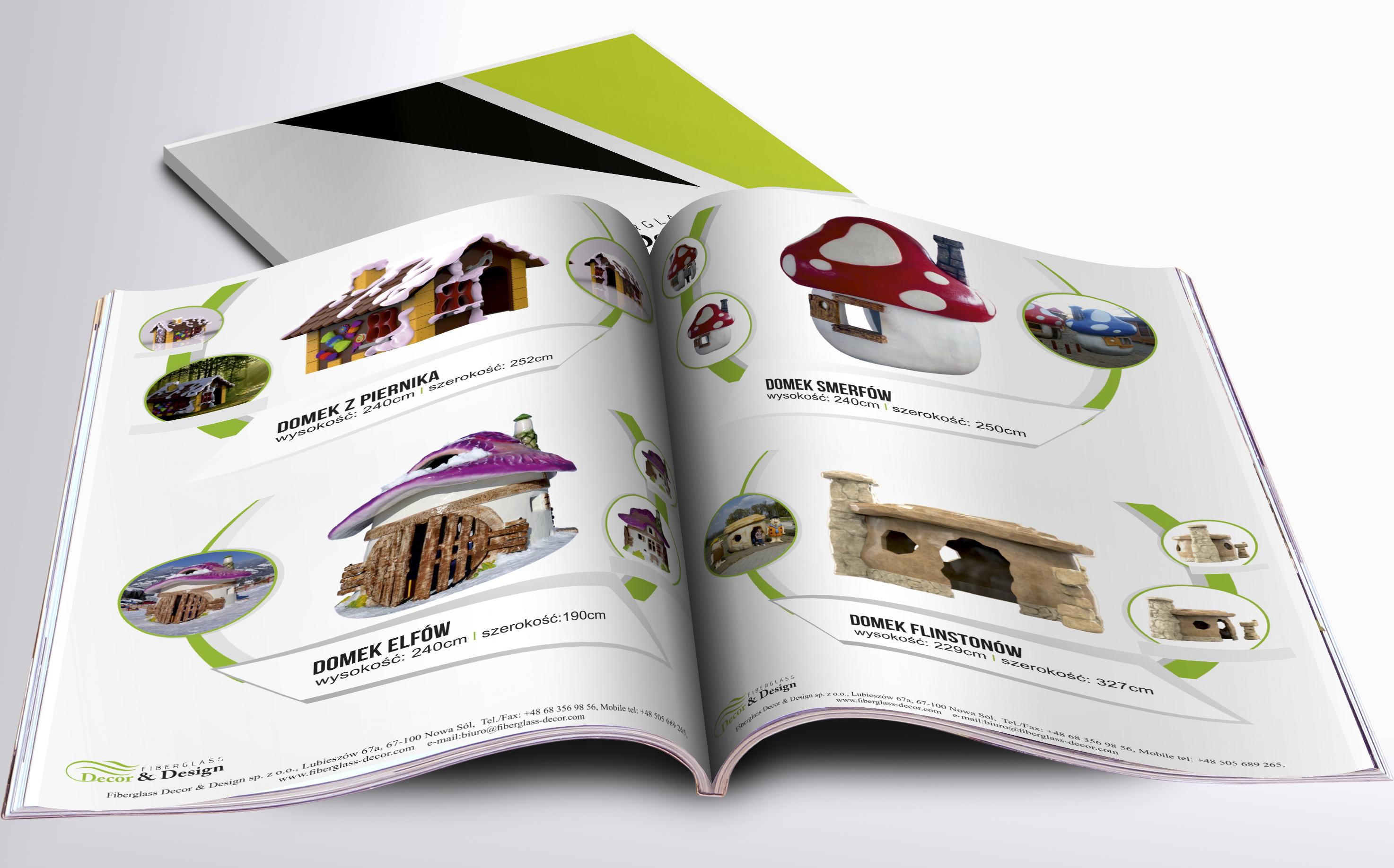 Katalog Makiety Reklamowe - domki