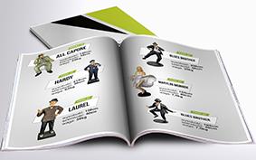 Katalog Makiety Reklamowe - filmowe